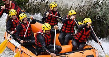 Rafting en Asturias desde Gijón